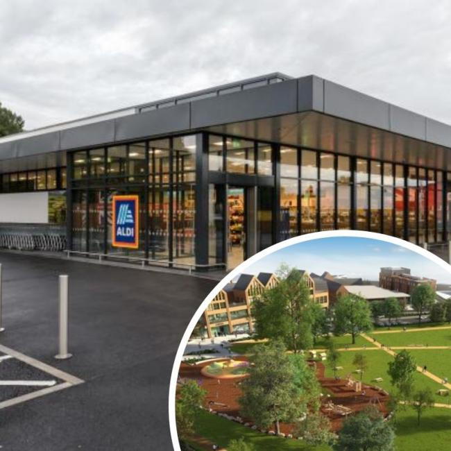The new Wokingham Aldi store is set to open next month