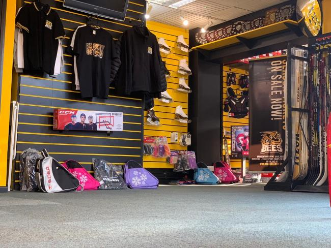 Bracknell Bees are unveiling their new shop