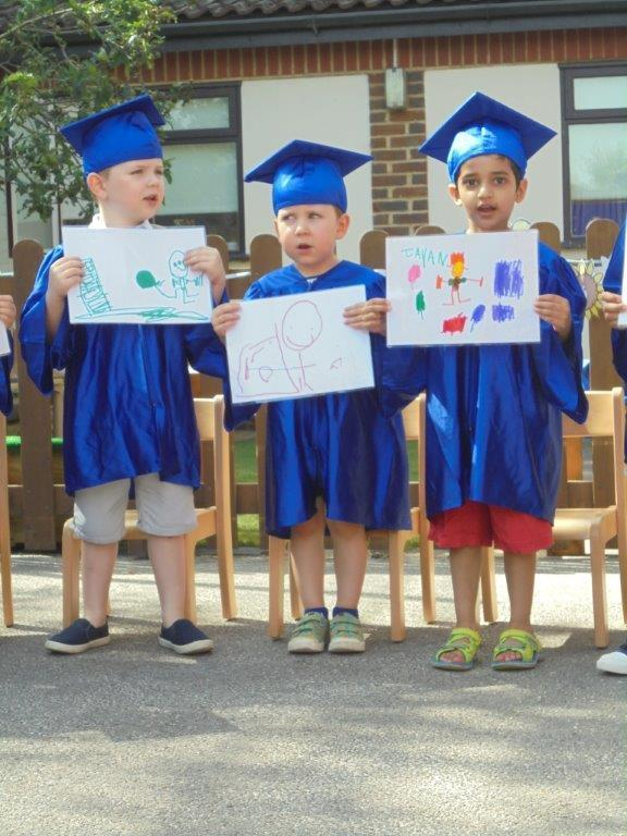 Forest Park pupils celebrated graduating