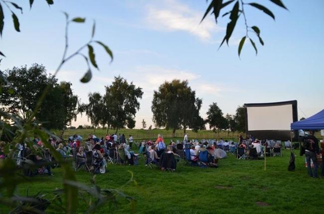Families can enjoy Dinton Pastures open air cinema