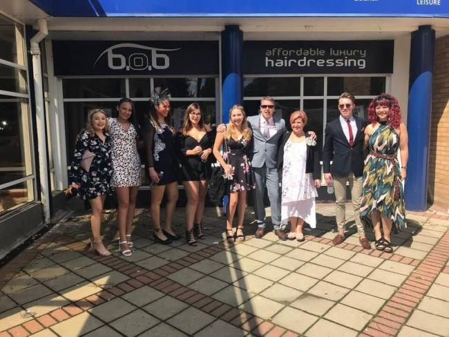 B.O.B Affordable Luxury Hairdressing in Bracknell finalist in award