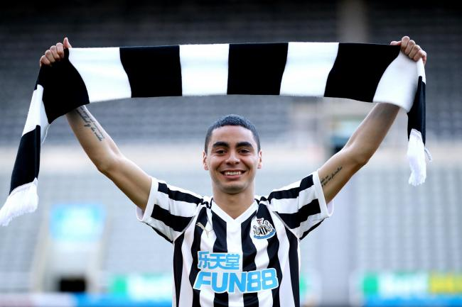 Joelinton has broken Miguel Almiron's record as Newcastle's most expensive signing
