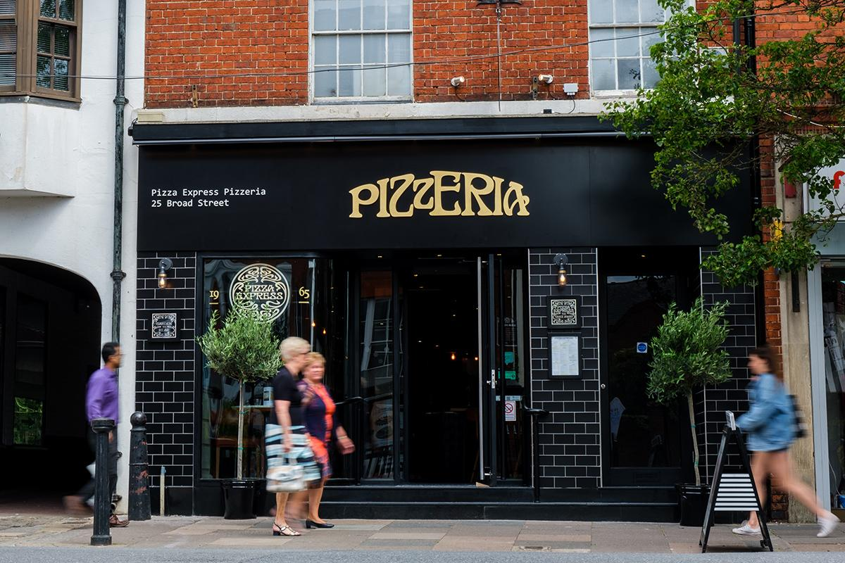 Pizza Express In Wokingham Has Redesigned Into A Traditional