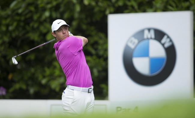 Rory Mcilroy of Northern Ireland during day 4 of the BMW PGA Championship at Wentworth Golf Club on May 27, 2018 in Surrey, England. Editorial Use Only.