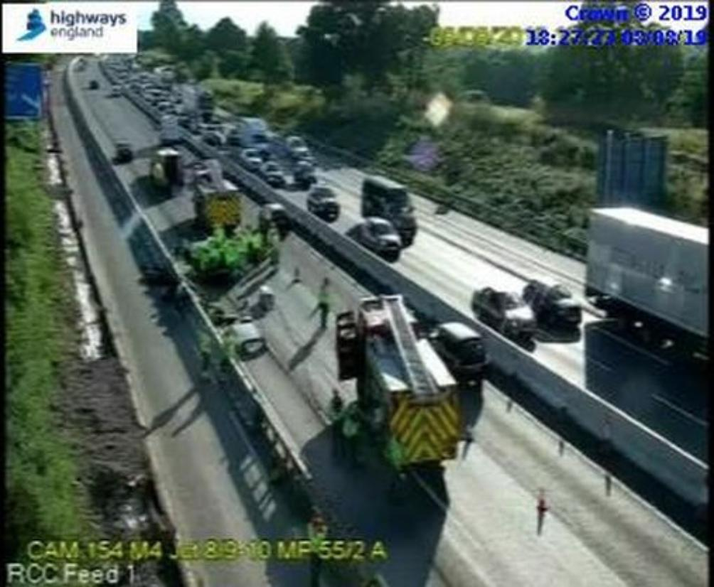 M4 crash: Long queues and two-hour delays | Bracknell News