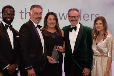 Strange the Jewellers in Wokingham has scooped the Independent Fashion Jewellery Retailer of the Year accolade at the Professional Jeweller Awards