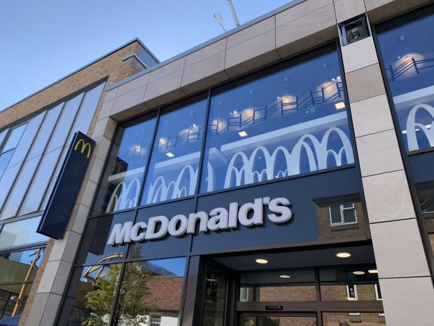 Bracknell News: The view from the seats of McDonald's