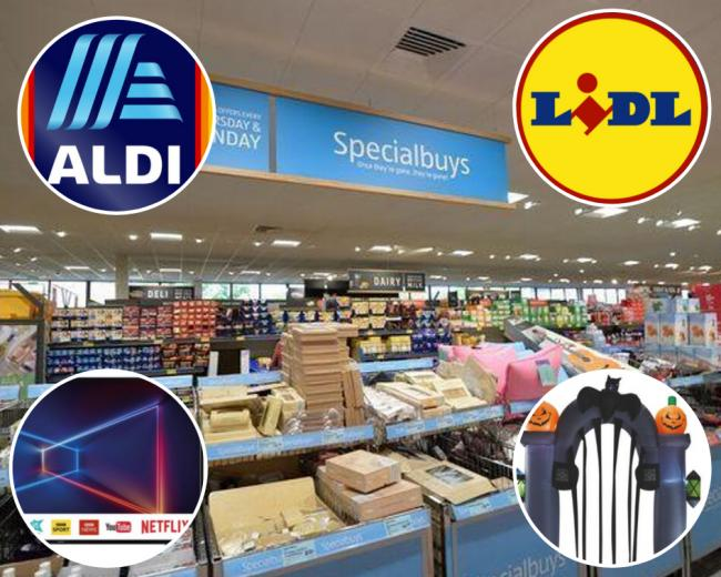 What's in the Lidl and Aldi 'Aisle of Dreams' this week