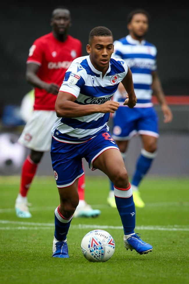 Reading midfielder Andy Rinomhota. Photo: JasonPix
