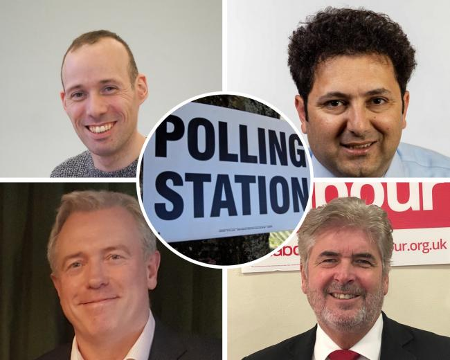 Here's who is standing in Bracknell