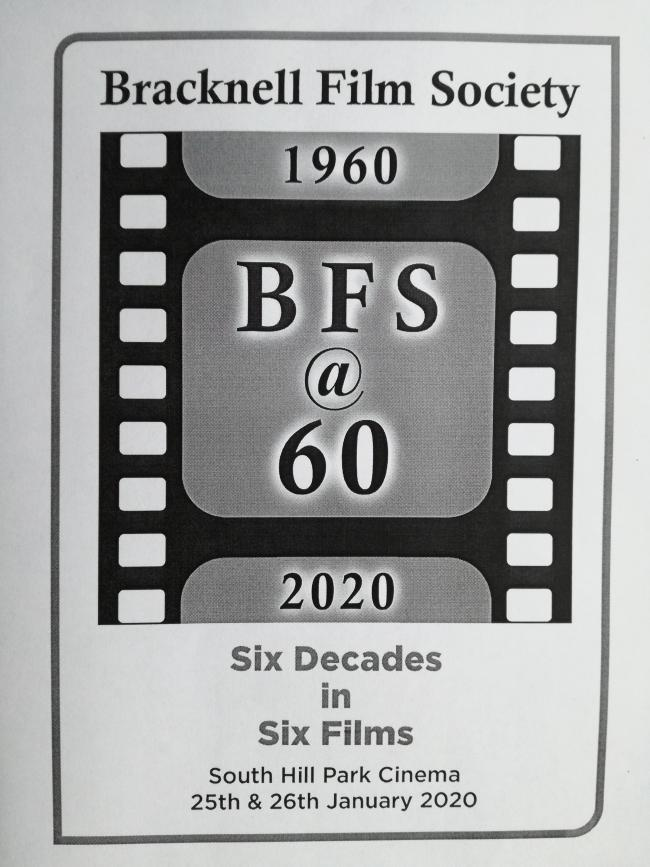 Bracknell Film Society is marking 60 years of showing the 'best cinema in the area