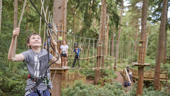 Go Ape ups the thrill factor with a new children's adventure course. See page 3 (Bracknell edition) for more