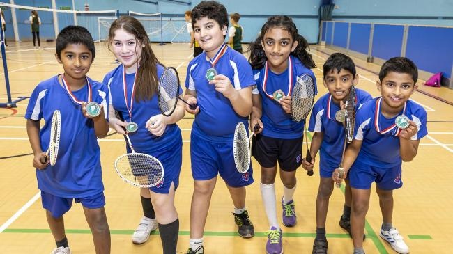 Fun and games at Bracknell Forest Festival of Badminton. Picture by Stewart Turkington. See page 12 for more
