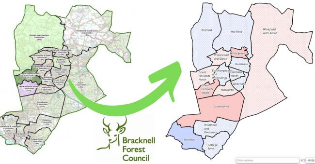 What Bracknell Forest's new map will mean for residents across the borough