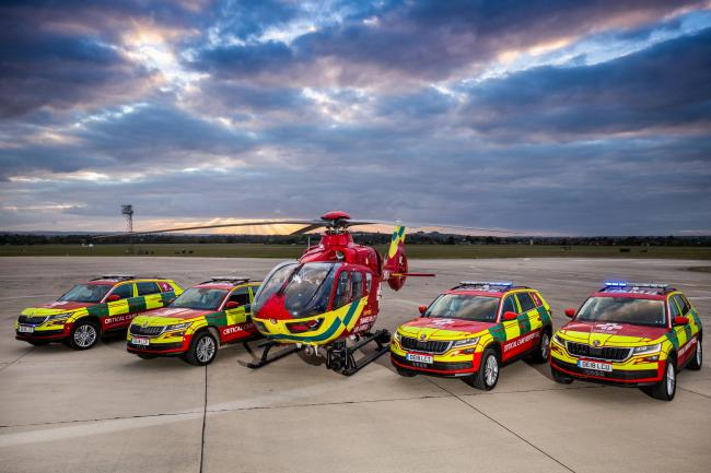 Air ambulance crews' desperate plea for personal protective equipment for frontline staff during 'major shortage'