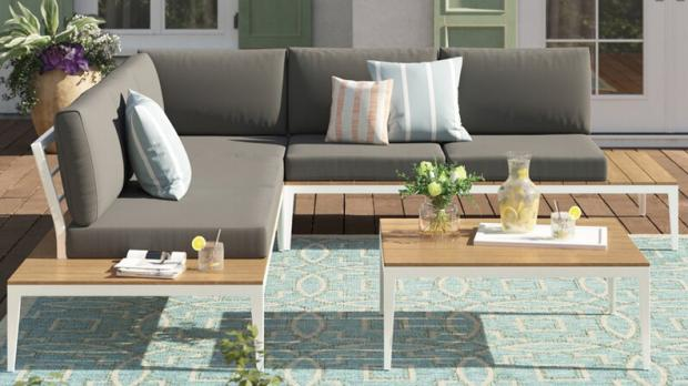 Bracknell News: This outdoor sofa can seat up to five people. Credit: Wayfair