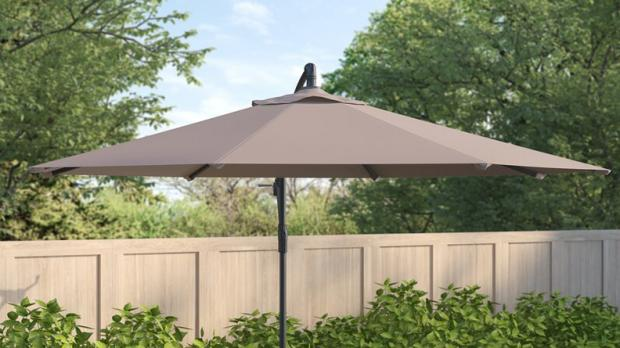 Bracknell News: This umbrella is offset for versatility. Credit: Wayfair