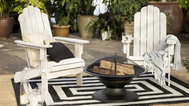 Bracknell News: Arrange a few of these chairs around your firepit! Credit: Wayfair