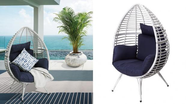 Bracknell News: Give your patio a trendy upgrade with this unique chair. Credit: Wayfair