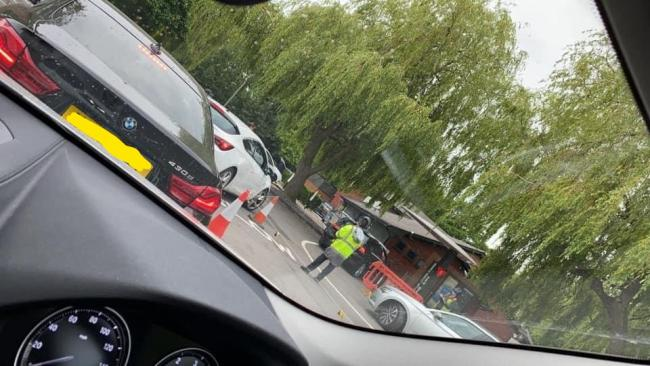 McDonald's queues in Bracknell