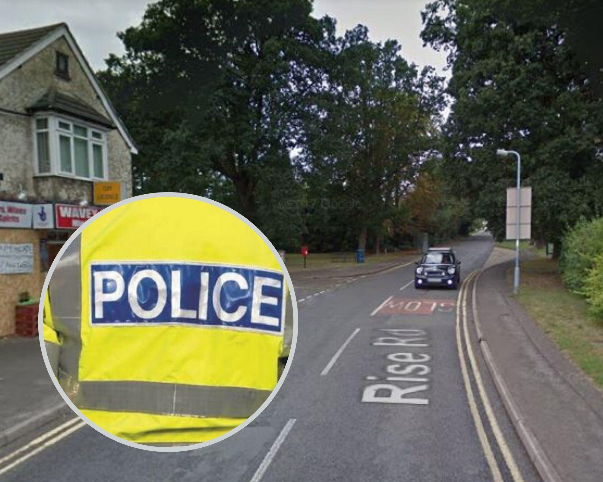 Tech :  L'enquête policière se poursuit après que le duo est entré dans un magasin à Sunningdale  , avis