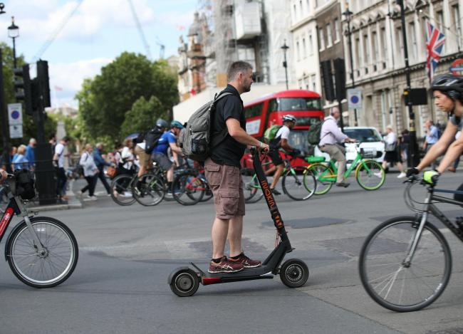 When will E-scooters be allowed on the roads - and how long for. Picture: PA Wire