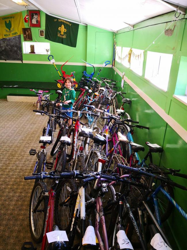 1st Sunningdale Scout Group host bike sale this Thursday