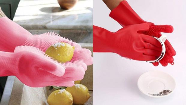 Bracknell News: Gloves and sponges in one? Yes, please. Credit: Forliver
