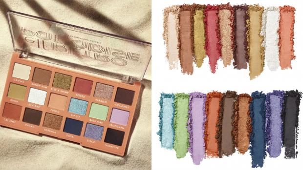 Bracknell News: Choose from metallic and matte finishes and vibrant and neutral colours with the E.L.F. Cosmetics Retro Paradise Eyeshadow Palette. Credit: E.L.F. Cosmetics