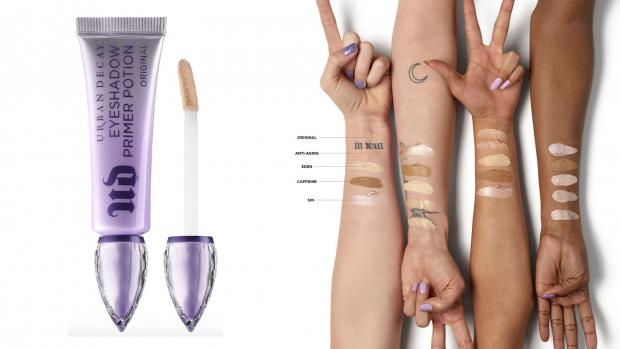 Bracknell News: Lock your eyeshadows into place with the Urban Decay EyeShadow Primer Potion. Credit: Urban Decay