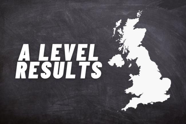 A level results: These are the 2020 exam pass rates in each region. Picture: Newsquest