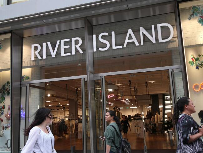 River Island to cut 350 jobs in major 'shake-up'. Picture: PA Wire