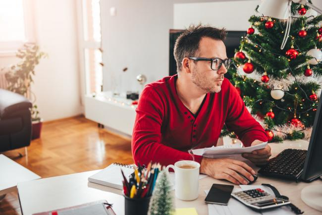 A Generic Photo to illustrate budgeting for Christmas. Picture credit: istock/PA.
