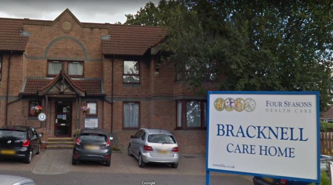 Bracknell Care Home is now rated as 'requires improvement' having been scored as 'inadequate' earlier this year