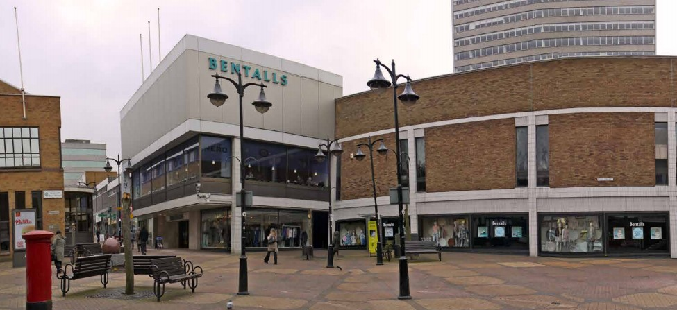 Bentalls will be knocked down to make way for The Deck