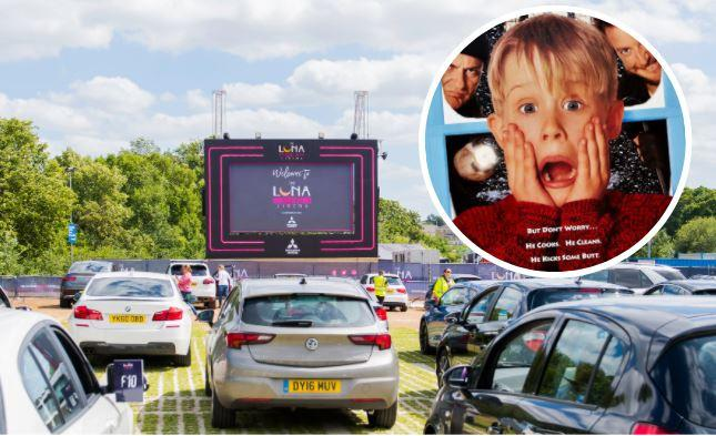 Racecourse to host Christmas drive-in cinema with ALL the festive favourites