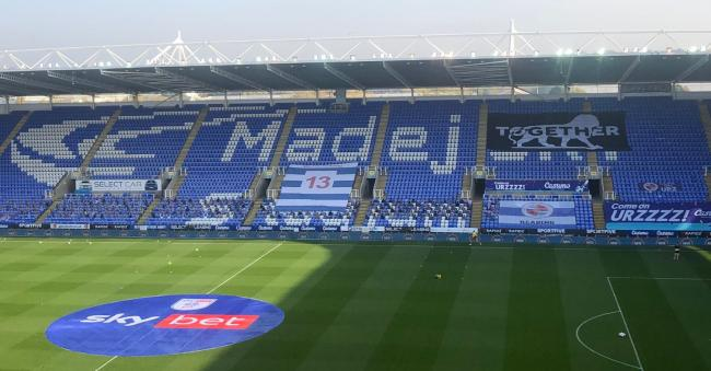 Reading FC fans set to return for home game against Nottingham Forest