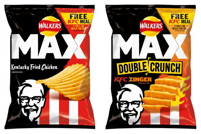 Walkers release KFC flavoured crisps. (Walkers)