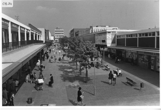 Bracknell News: Broadway 1971 (Attributed to Charles Minchell)