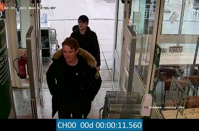 Shoplifting and assault of police officer leads to CCTV pictures released