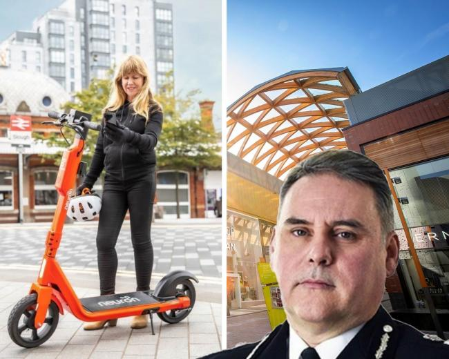 Police chief constable John Campbell on cracking down on e-scooters