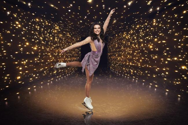 Dancing On Ice contestant Faye Brookes