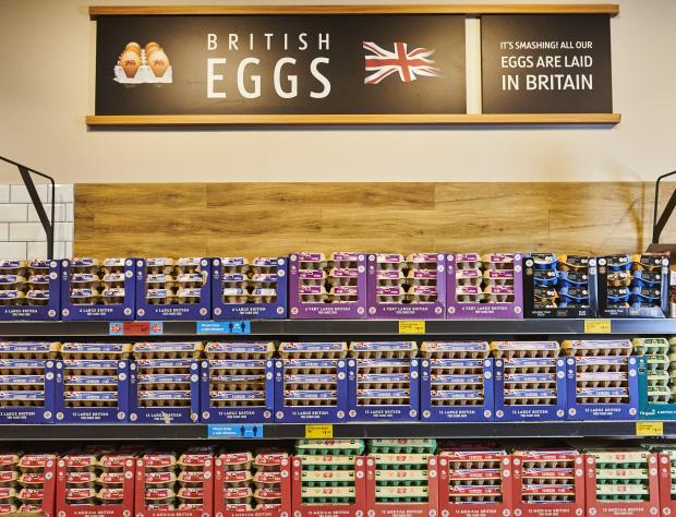 Bracknell News: Aldi has committed to remove plastic packaging from its entire egg range. (Aldi)