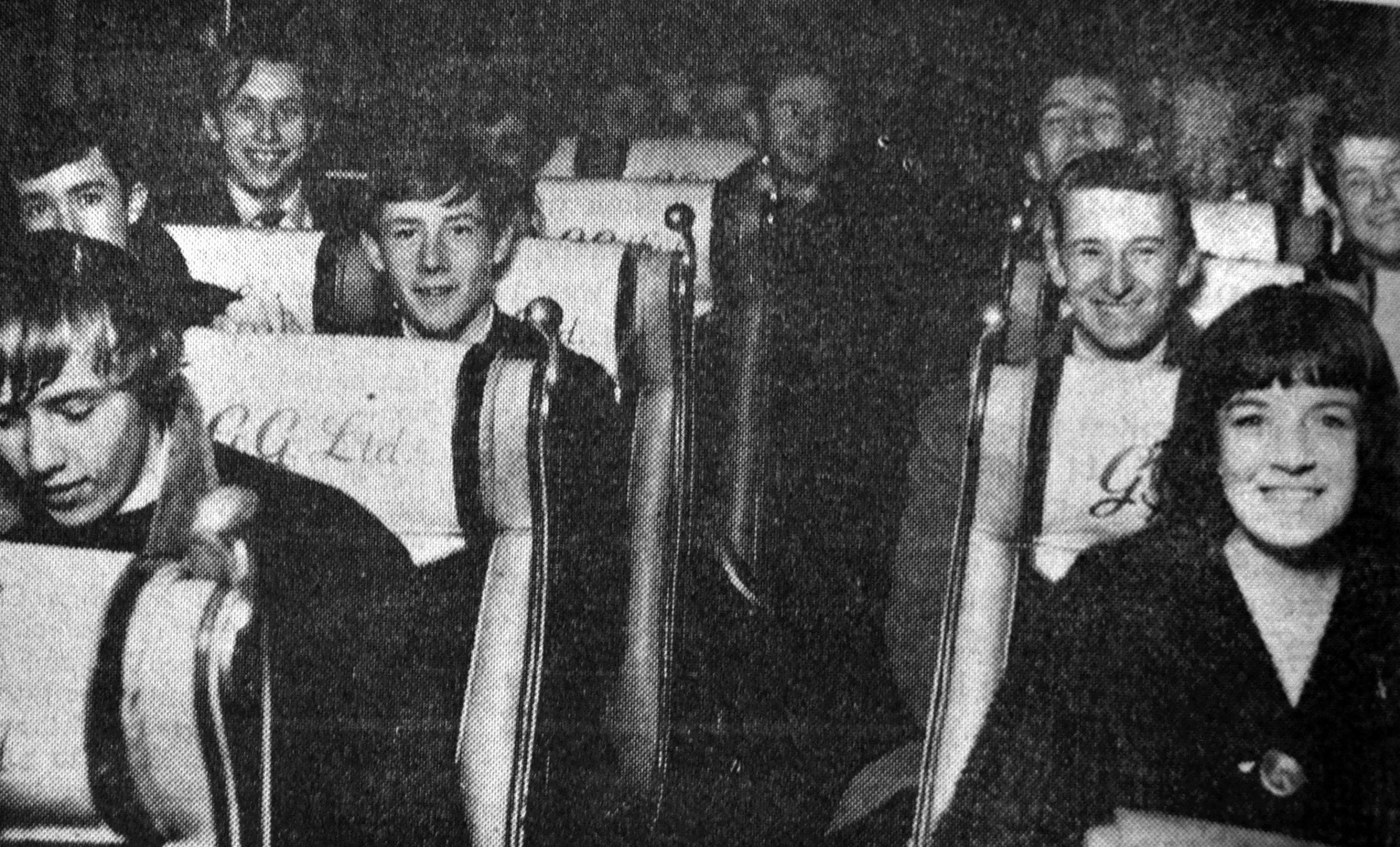 TICKET TO RIDE: These teenagers went to see the Beatles