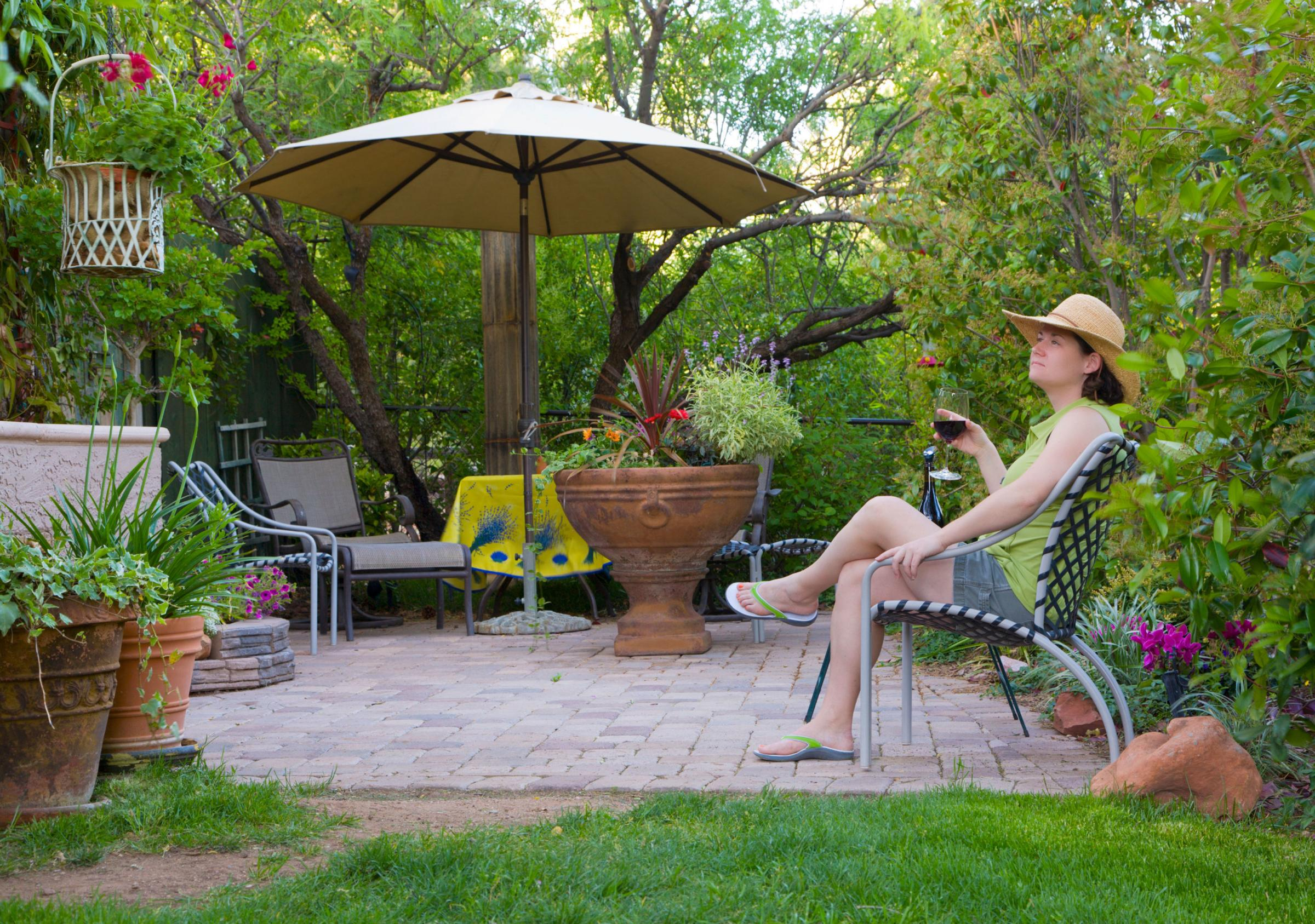 Generic stock photo to illustrate garden items in spring. See PA Feature FINANCE Garden Protection. Picture credit should read: Alamy/PA. WARNING: This picture must only be used to accompany PA Feature FINANCE Garden Protection.