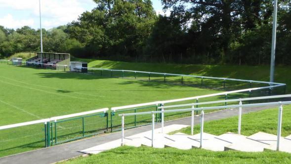 Bracknell News: The existing grounds of Binfield FC at Hill Farm Lane.  Credit: Binfield FC