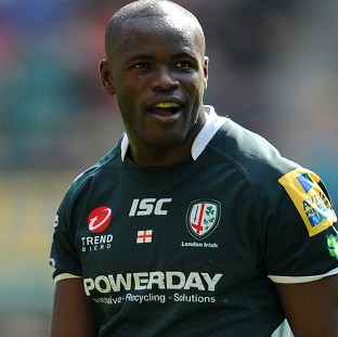 Topsy Ojo set to break London Irish cap record against Cornish Pirates