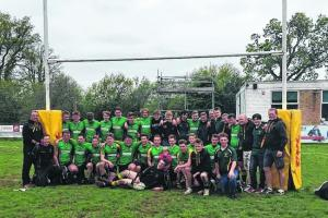 Bracknell RFC Under 16s complete title-winning season with another win