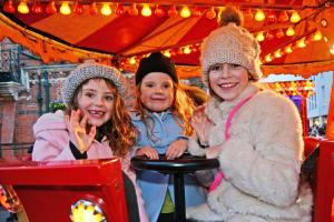 All the fun of the fair: Annual Winter Carnival lights up Wokingham