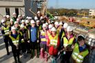 Pupils learn about town's future at Lexicon Bracknell building site